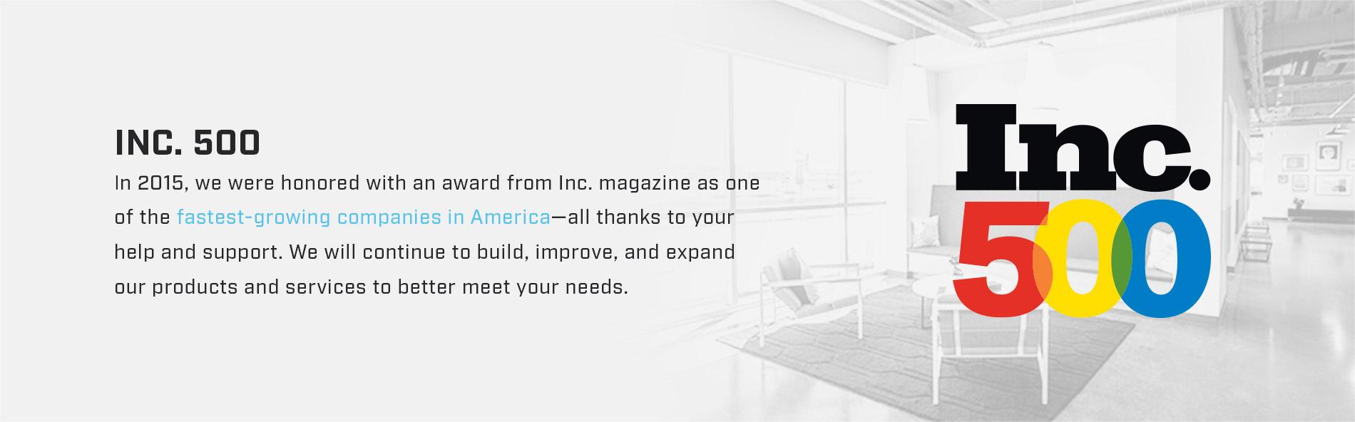 BodyGuardz is an Inc. 500 company