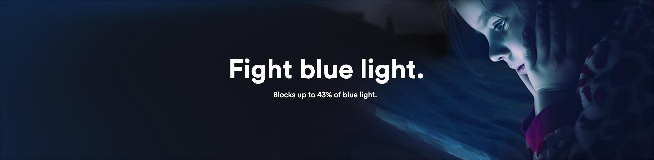 fight phone blue light