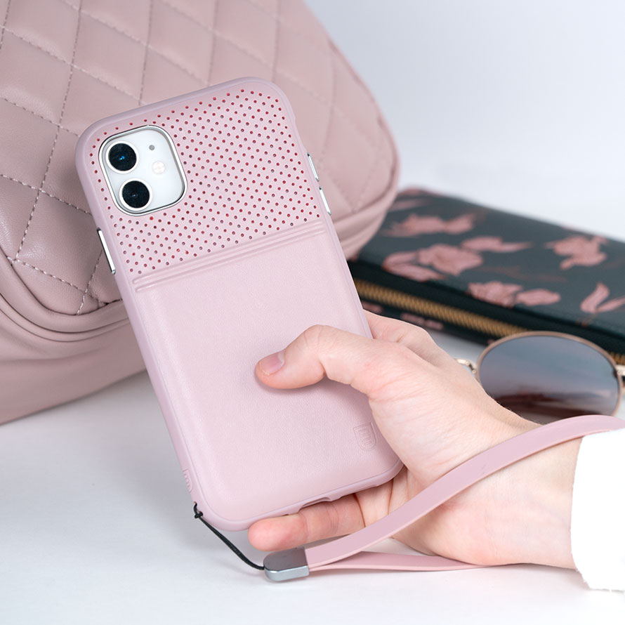 Accent Duo Mauve Case for iPhone 11