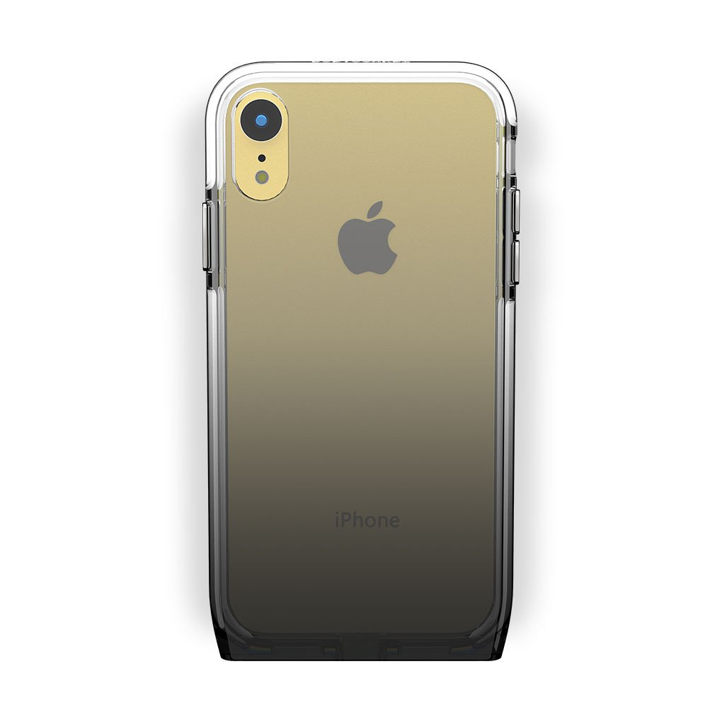 iPhone Xr Yellow with Harmony Shade Clear Case