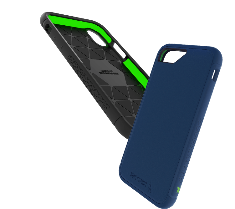 shock phone cases with unequal technology