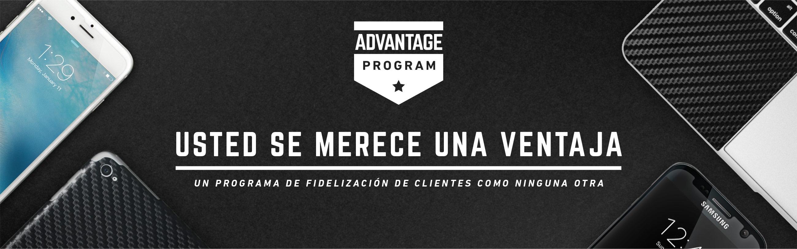 Advantage Program Header Medium