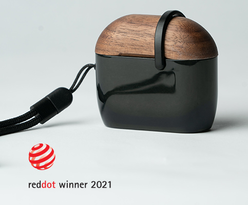 Podium Airpods Case Wins Red Dot Award