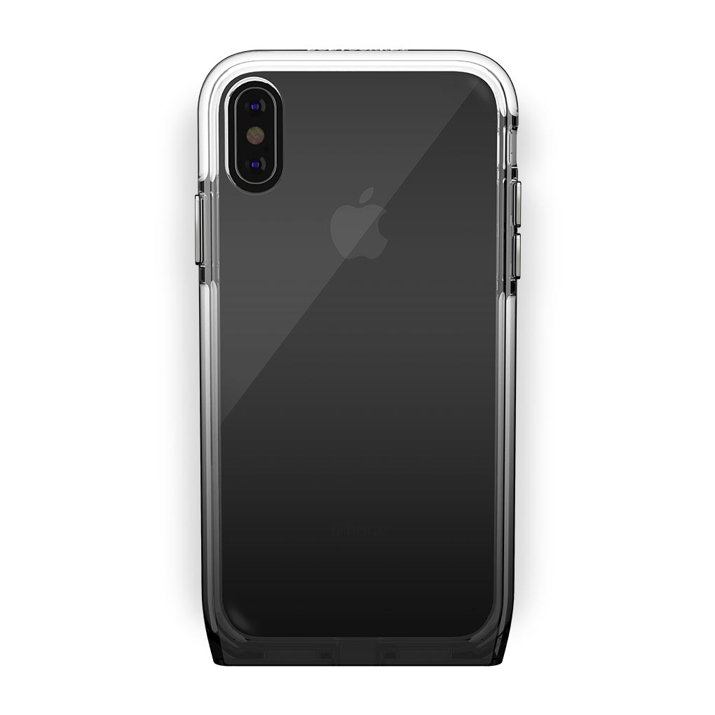 iPhone Xs Max Black with Harmony Shade Clear Case