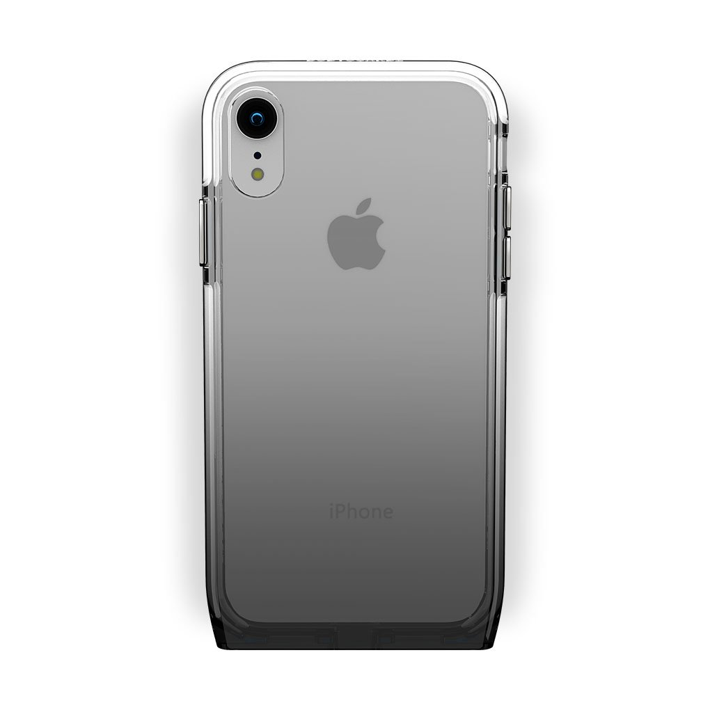 iPhone Xr White with Harmony Shade Clear Case