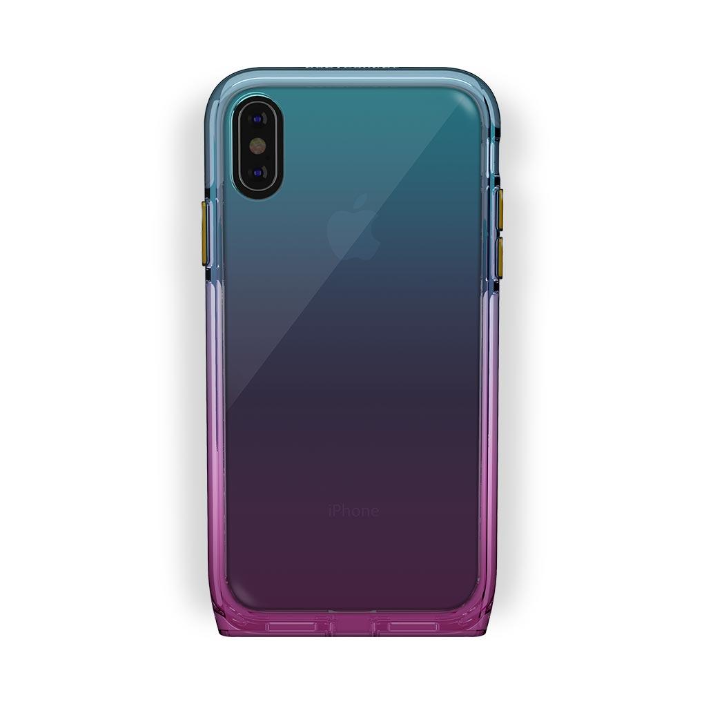 iPhone X/Xs Black with Harmony Unicorn Clear Case