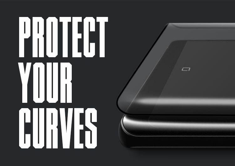 Protect your curved glass screens with Pure Arc