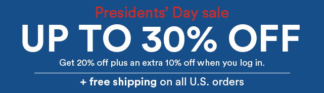 Presidents Day Sale 2020
