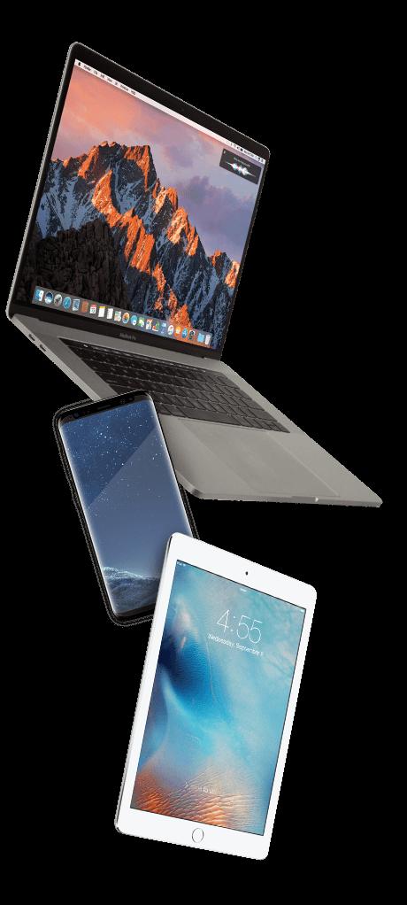 'MacBooks, Tablets