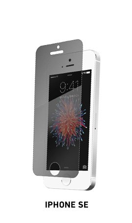 Spyglass privacy phone screen protector for iPhone SE