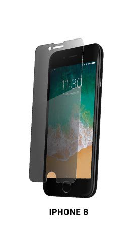 Spyglass privacy phone screen protector for iPhone 8