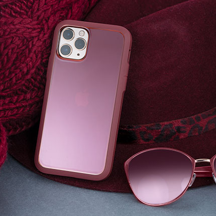 Paradigm S Maroon for iPhone 11 Pro