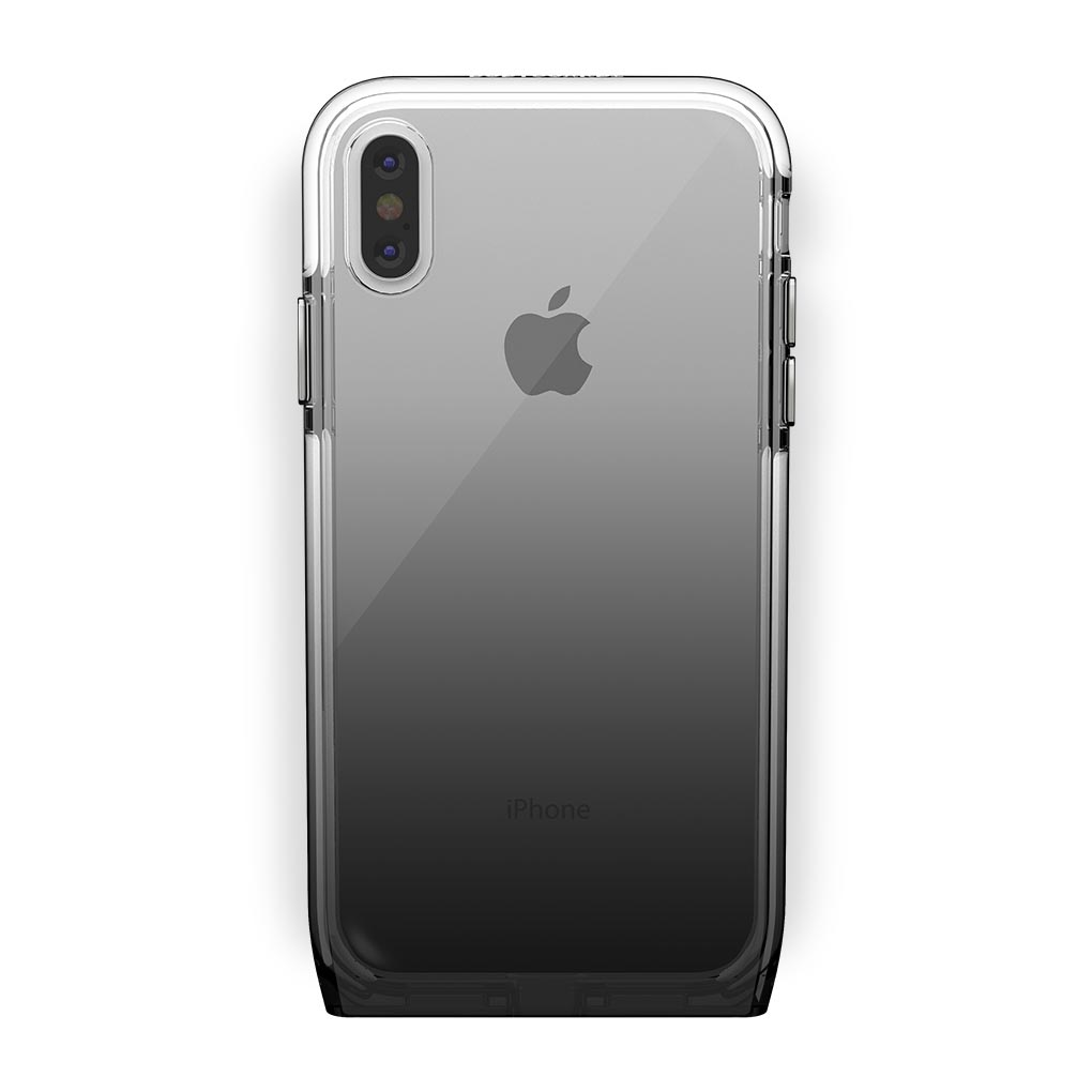 iPhone Xs Max White with Harmony Shade Clear Case