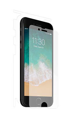 UltraTough® clear phone and tablet skins for iPhone 8