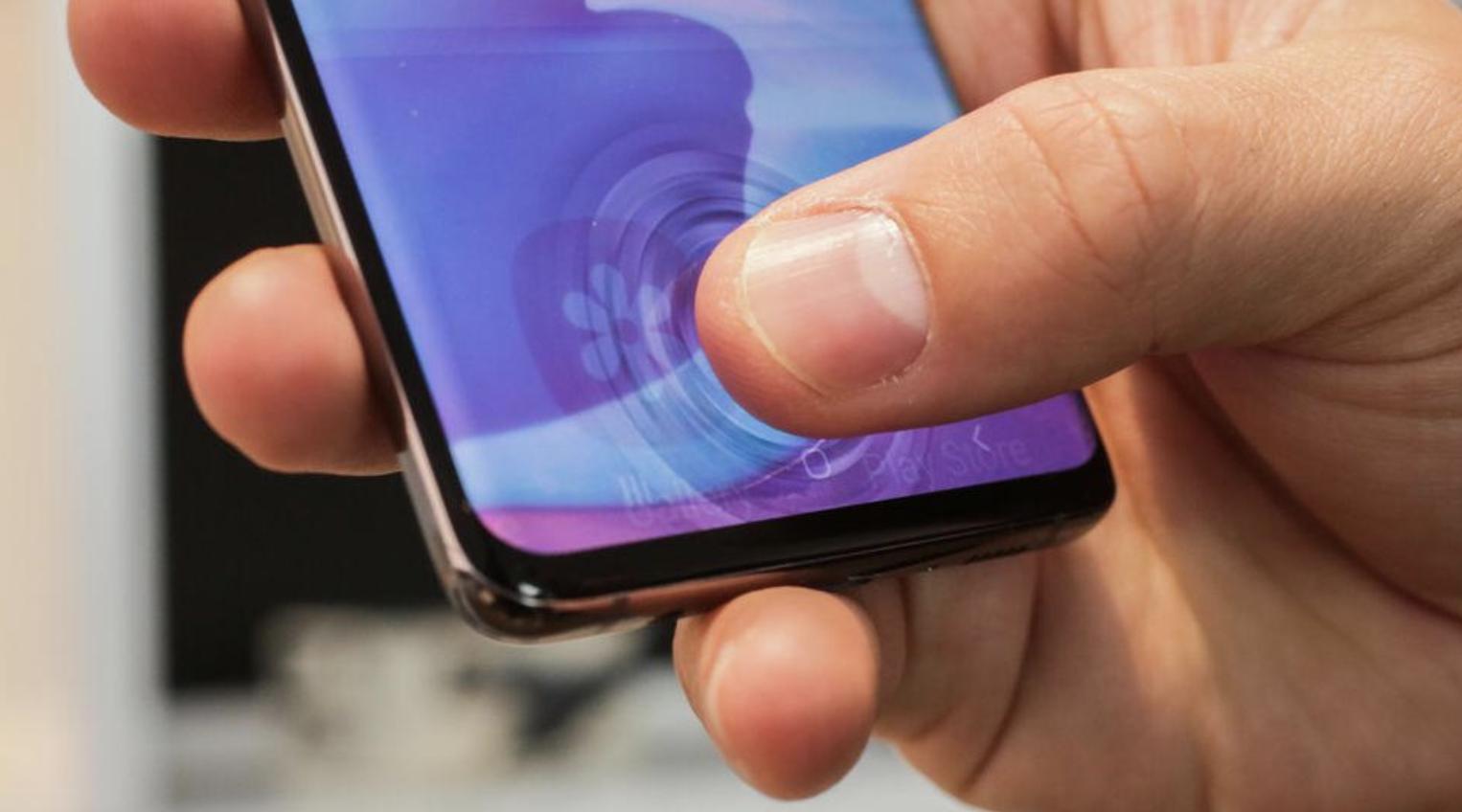 Galaxy S10 Fingerprint sensor