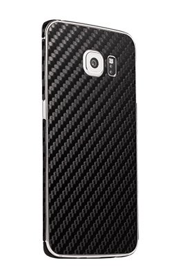 Galaxy S6 Edge carbon fiber phone skins