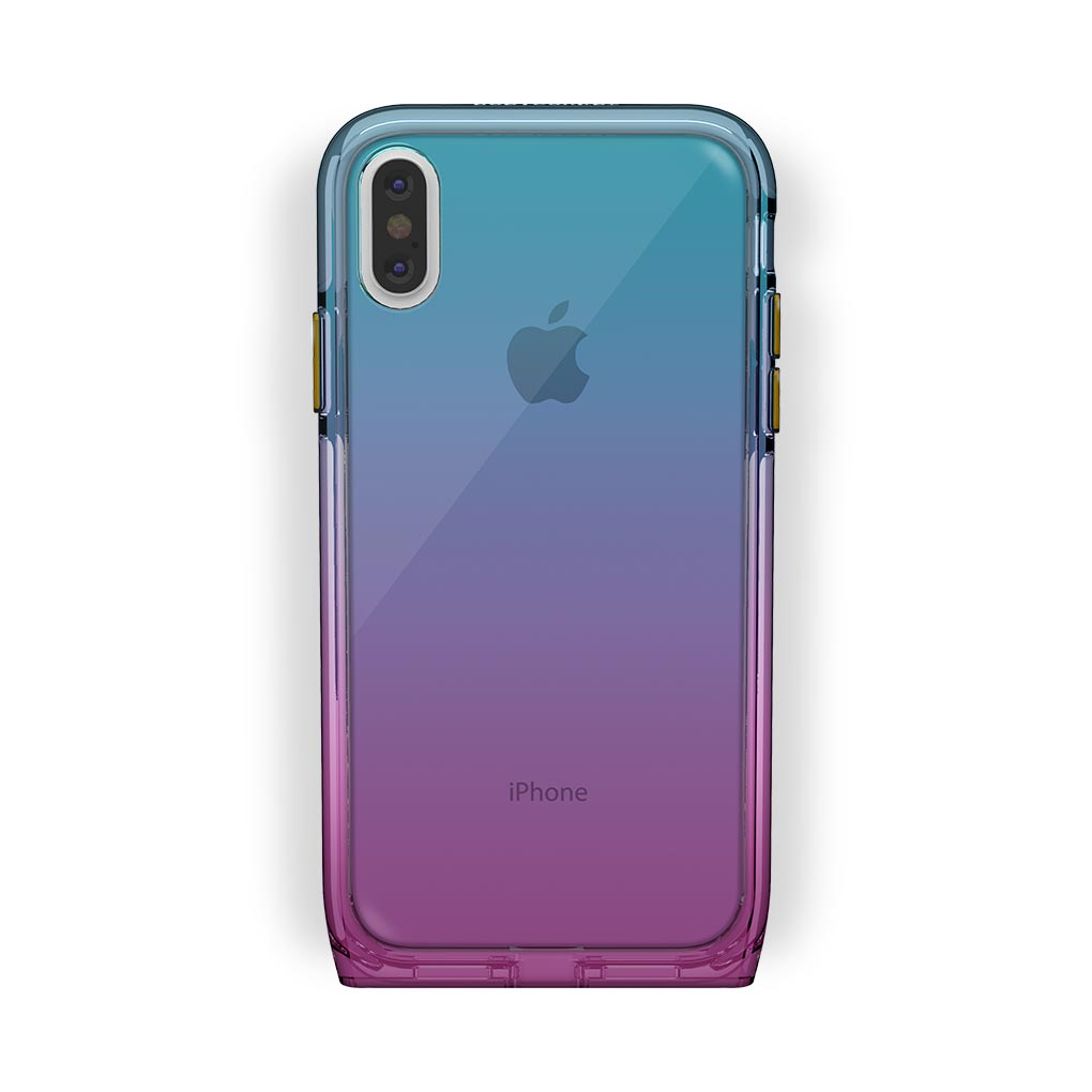 iPhone X/Xs White with Harmony Unicorn Clear Case