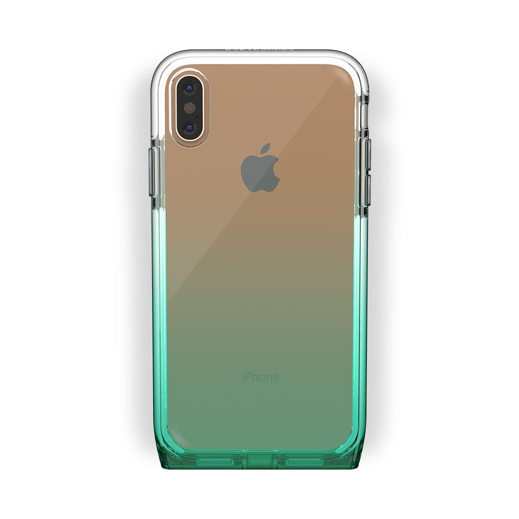 iPhone X/Xs Gold with Harmony Lucky Clear Case