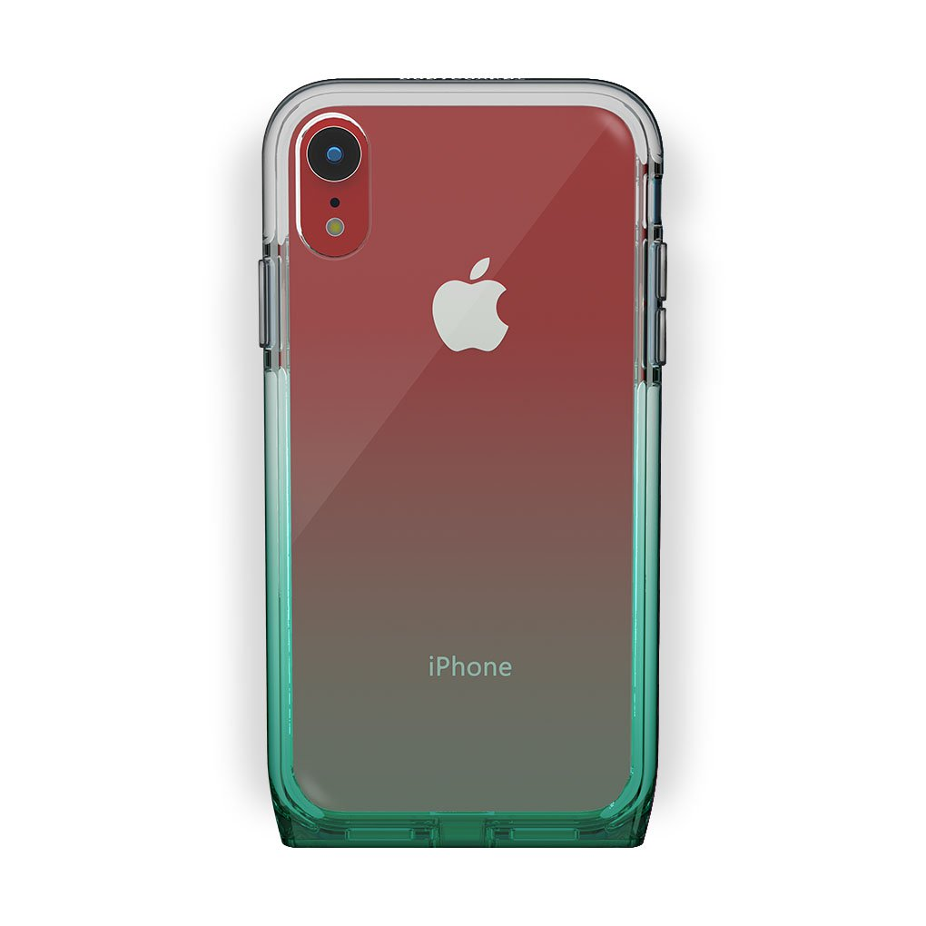 iPhone Xr Red with Harmony Lucky Clear Case