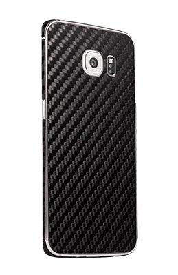Galaxy S6 Edge carbon fiber phone skins