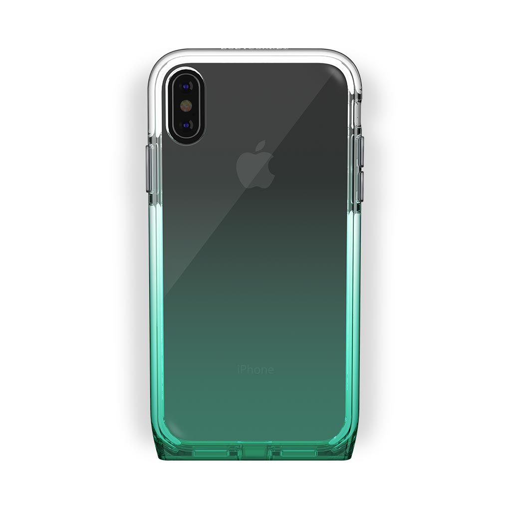 iPhone X/Xs Black with Harmony Lucky Clear Case
